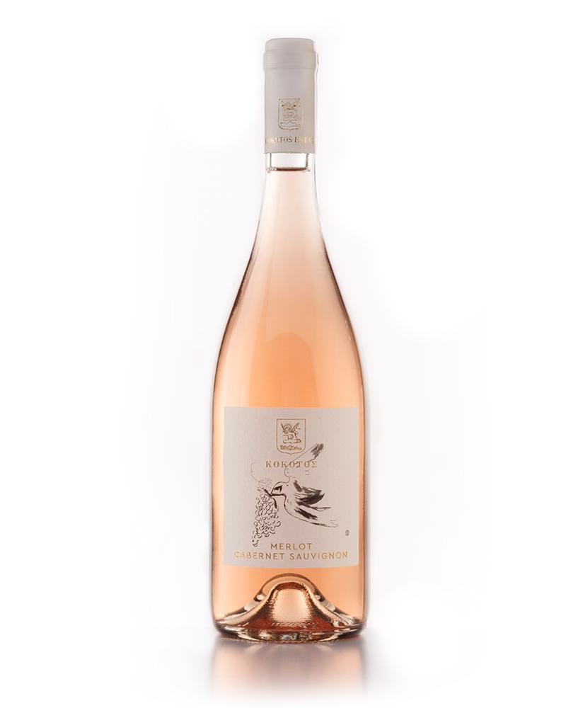 """Ροζέ, Merlot-Cabernet Sauvignon, """"Κλέφτρα Κίσσα"""" 2019"""